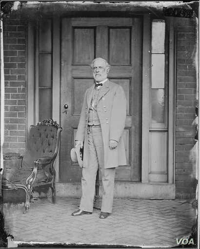 Portrait of Confederate General Robert E. Lee (image courtesy of the National Archives)