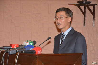Chin's ambassador to Pakistan, Yao Jing, Islamabad, April 20, 2018 (Courtesy: Pakistan China Institute)