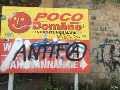 Anti-immigrant sentiment in eastern Germany has made some refugees wonder if they would be better off elsewhere. But Iraqis from ISIS territories say between Islamic State fighters and sectarian violence they have no where else to go, Dresden, German...