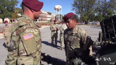The 82nd Airborne is the most diverse military division in the United States, according to the US Army.