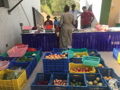 Many farmers Haryana state travel to this market in the business hub of Gurugram near New Delhi to get a better price for his produce for which they say they otherwise get a poor price.
