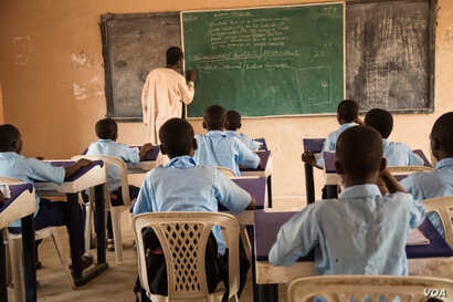 The Buni Yadi school students have been transferred to another school in the city of Potiskum, located 160km away from Buni Yadi.  Here, they say they feel safe to continue their studies. Photo by Chika Oduah May 2018.