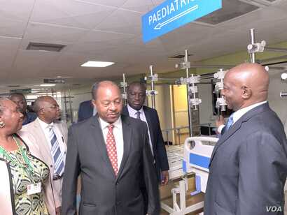 Zimbabwe Health Minister Obediah Moyo lauded the doctors' return to work Thursday.