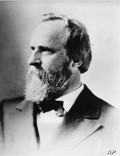Rutherford B. Hayes, the 19th president of the United States of America.