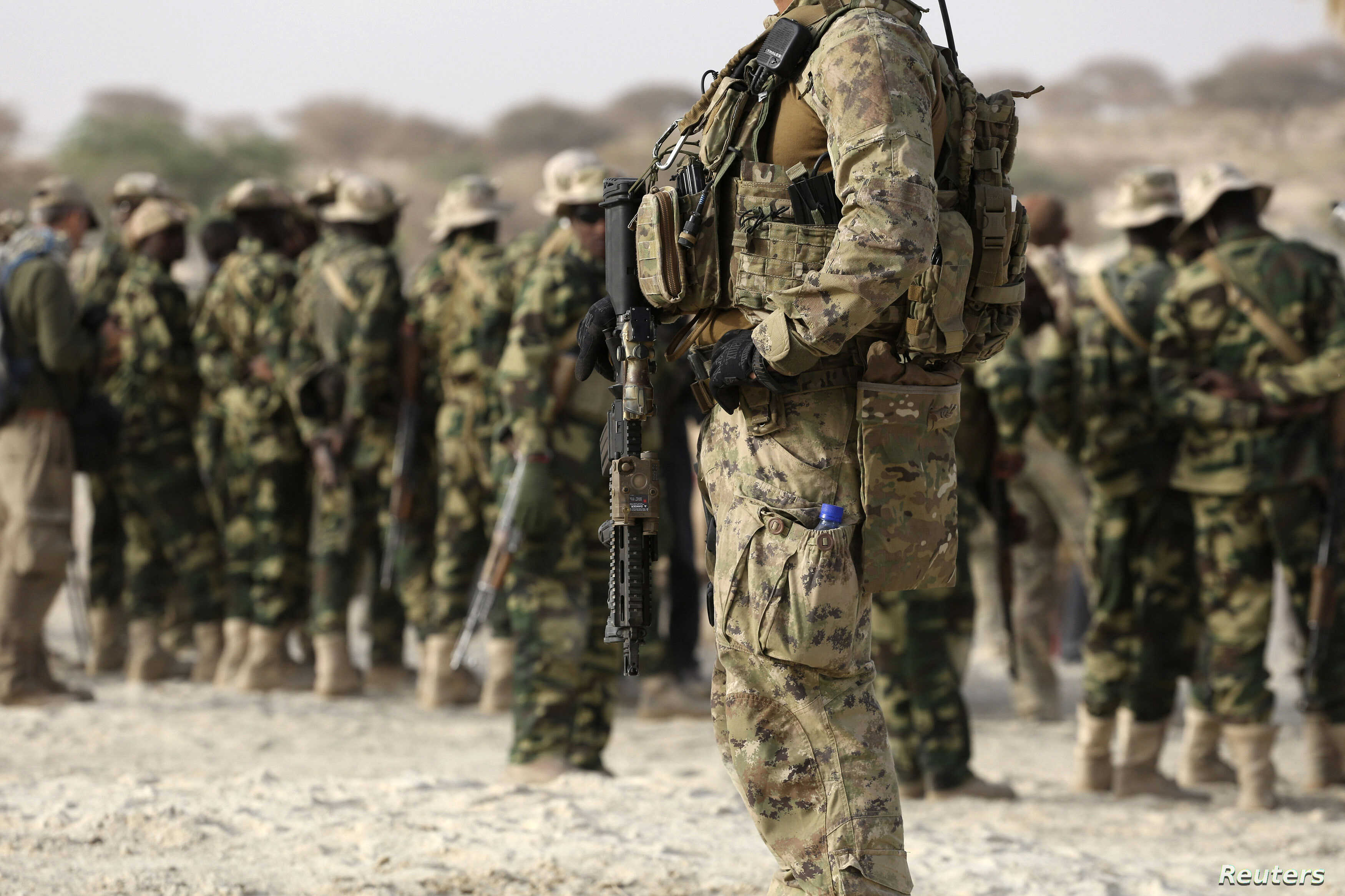 FILE - U.S. special forces soldiers.