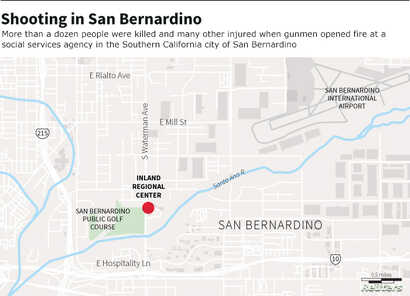 More than a dozen people were killed and many other injured when gunmen opened fire at a  social services agency in the Southern California city of San Bernardino