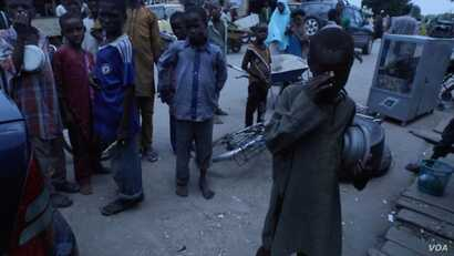 The widespread hunger epidemic induced by Boko Haram's seven years of violence in the region has increased the number of children begging on the streets.
