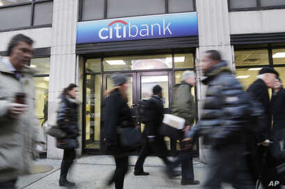 Branch office of Citibank, in New York