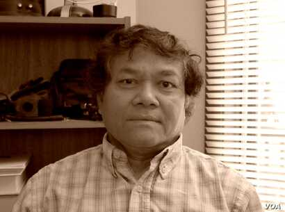 "Sokurt Sous survived the Khmer Rouge genocide and arrived in the United States as a refugee in 1982. He was featured in ""Follow the Moon"" radio documentary by Greg Barron. (Courtesy photo of Greg Barron)"