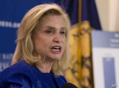 FILE - Rep. Carolyn Maloney, D-N.Y.