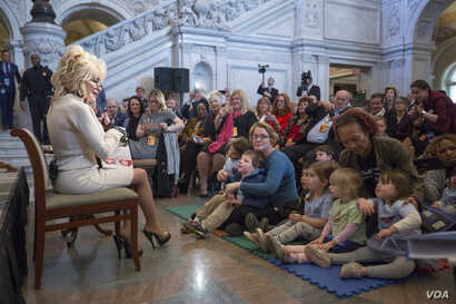 Renowned singer/songwriter Dolly Parton's Imagination Library is a book gifting program that mails free, high-quality books to children from birth until they begin school, no matter their family's income.