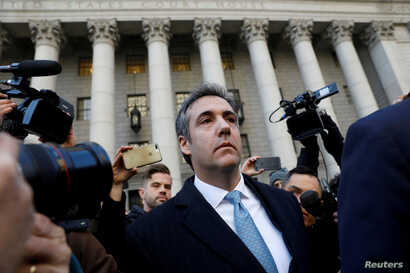 Michael Cohen exits Federal Court