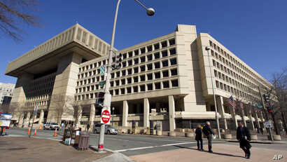 The Federal Bureau of Investigation (FBI) headquarters in Washington. (File)
