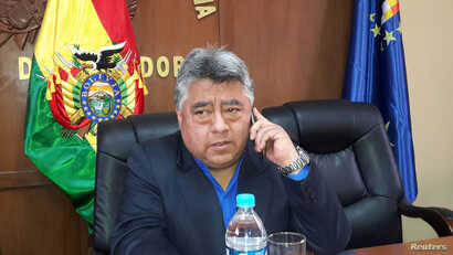 Bolivian Deputy Interior Minister Rodolfo Illanes is seen in this undated handout picture provided by Bolivian Presidency, Aug. 25, 2016.