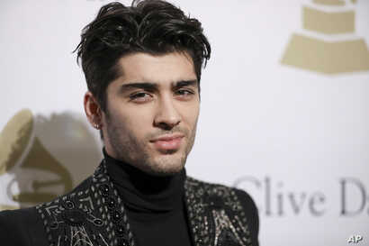 Zayn Malik attends the Clive Davis and The Recording Academy Pre-Grammy Gala at The Beverly Hilton Hotel on Feb. 11, 2017, in Beverly Hills, Calif.