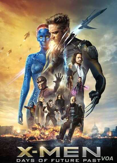 X-Men Days of Future Pasopens in theaters May 23