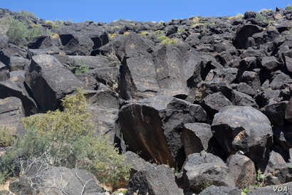 Archeologists estimate there may be over 25,000 petroglyph images along the 27 kilometers of escarpment within Petroglyph National Monument.