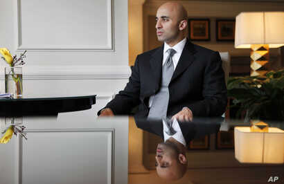 """FILE -  Yousef Al Otaiba, the United Arab Emirates' ambassador to the U.S., says that """"in the past, we have survived with a gentlemen's agreement with the United States about security. I think today we need something in writing."""""""