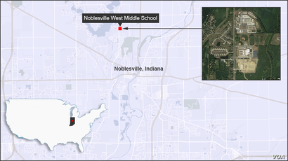 Noblesville West Middle School, Indiana