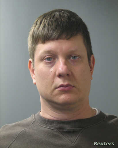 Chicago Police Officer Jason Van Dyke is seen in an undated picture released by the Cook County state's attorney's office in Chicago.