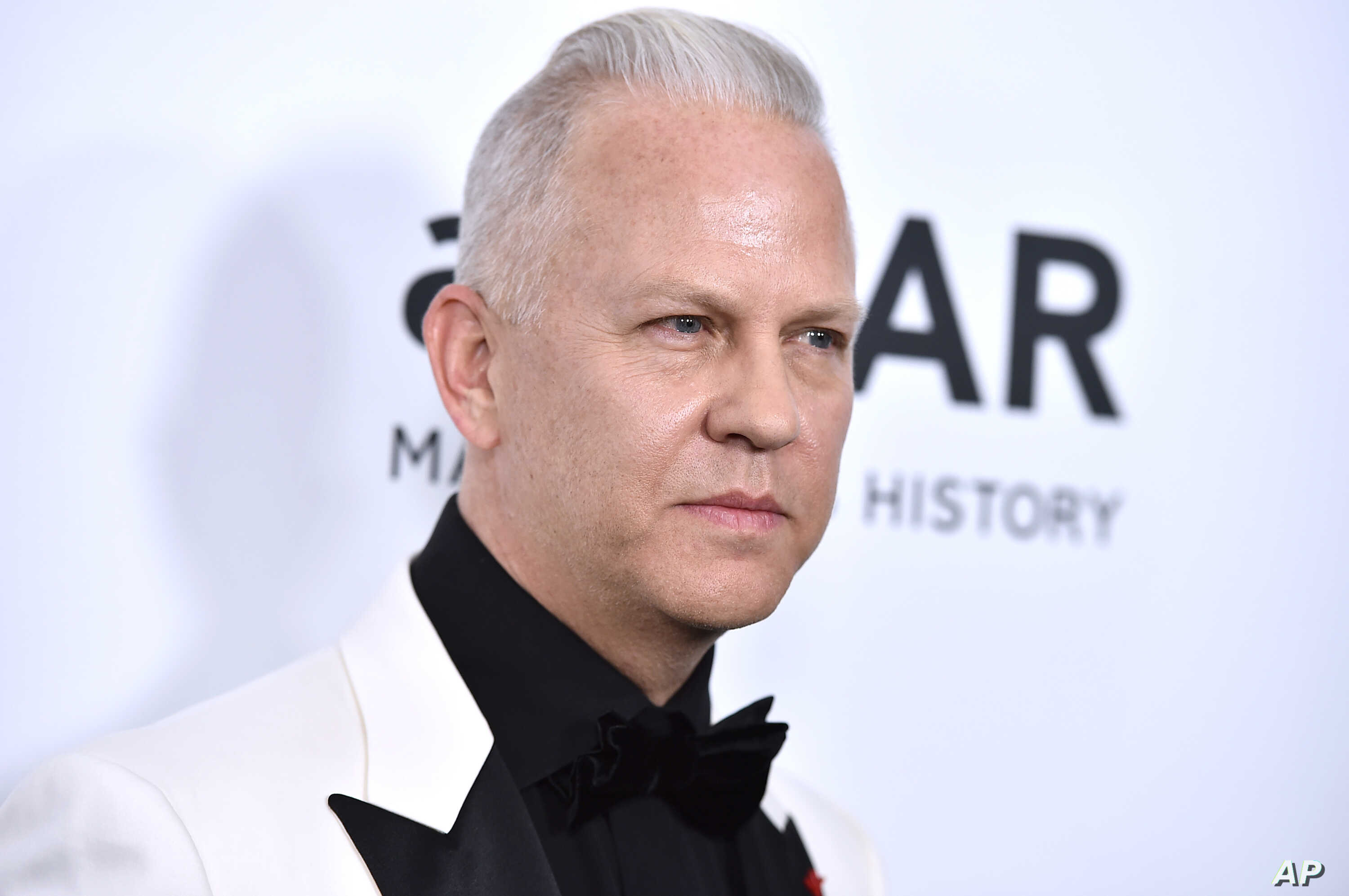 Ryan Murphy arrives at the amfAR Inspiration Gala at Milk Studios on Oct. 29, 2015, in Los Angeles.