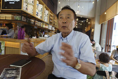 """Kim Ji Nho, 71, is a """"hibakusha,"""" or atomic-bomb survivor, who was exposed to radiation when his mother, pregnant with him, went to the ruins of the city to search for a daughter who went missing in the blast. """"We 'hibakusha' and our groups share a c..."""