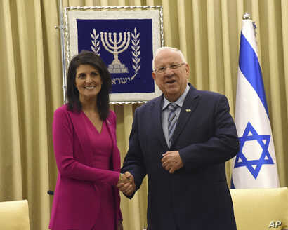 Israel US Haley