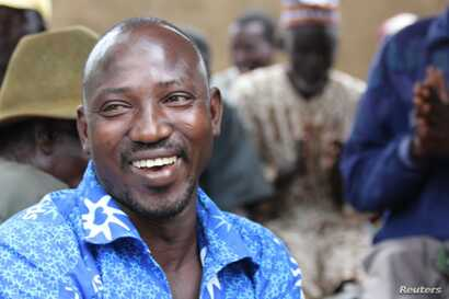 Joseph Asakibeem, project manager with charity AfriKids, Oct. 2012.
