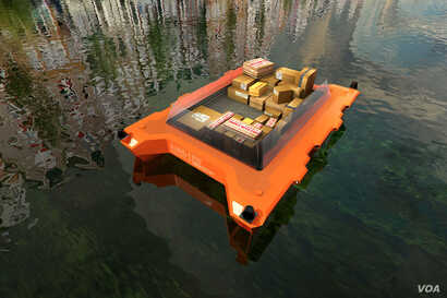 The new ROBOAT project will investigate how urban waterways can be used to improve the city's function and quality of life. (SENSEable City Lab)