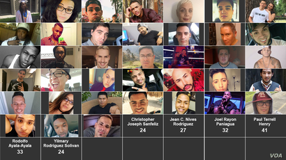 The Victims of the Orlando Mass Shooting