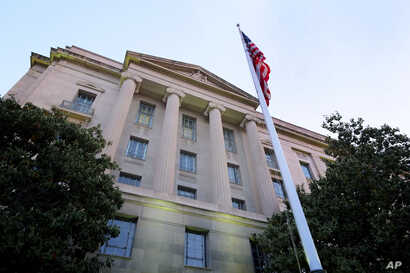 The Department of Justice headquarters building in Washington.