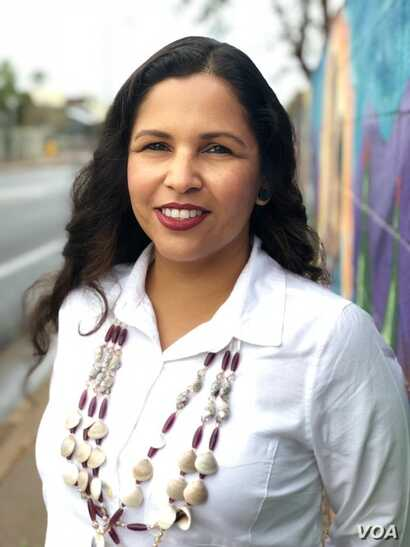 Eve Reyes-Aguirre, Izkaloteka Mexican Native living in Phoenix, Arizona, is the Green Party Candidate for U.S. Senate in Arizona.