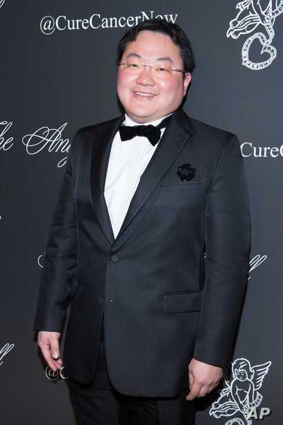 FILE - Jho Low, a Malaysian financier, attends an event in New York, Oct. 20, 2014.