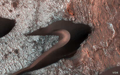 The High Resolution Imaging Science Experiment (HiRISE) camera aboard NASA's Mars Reconnaissance Orbiter often takes images of Martian sand dunes to study the mobile soils. These images provide information about erosion and movement of surface materi...