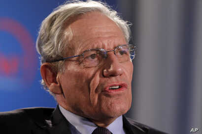 Former Washington Post reporter Bob Woodward speaks during an event sponsored by The Washington Post to commemorate the 40th anniversary of Watergate, June 11, 2012 at the Watergate office building in Washington.