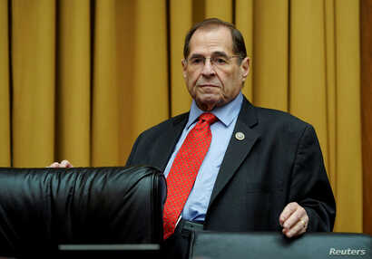 FILE - U.S. Rep. Jerrold Nadler, D-N.Y., is pictured at a House Judiciary Committee hearing on Capitol Hill in Washington, Dec. 20, 2018.