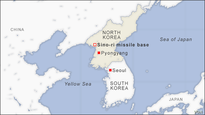 Sino-ri missile base, North Korea