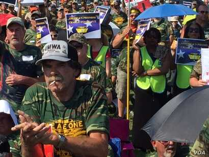 Thousands of the United mine worker's union 73,000 members attended a rally on the Washington Mall, attempting to get the attention of Congress. Total labor union membership in the United States has been declining since 1979 when it reached a high of...
