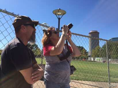 Tourists Sean and Serena Witzke say everyone has had past indiscretions in life.
