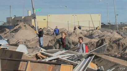 NY Residents Struggling to Recover from Superstorm Sandy