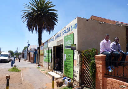 "103rd Street in Johannesburg has been nicknamed ""Mogadishio"" for its large Somali community. (Solenn Honorone for VOA)"