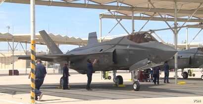 """The U.S. Air Force's newest fighter jet, the F-35 joint strike fighter, possesses dazzling technological innovations. """"This plane, I can't harp on it enough, this plane is the most advanced fighter aircraft we (the United States) have,"""" Major Wil..."""