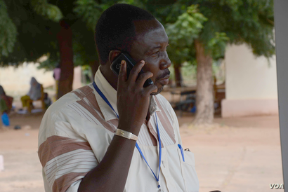 Dr Koumare Toumani, the director-general at the Kayes Hospital, says they were surprised by the first Ebola case in Mali. In a few days, however, the structure to trace and monitor cases should be in place, Kayes, Mali, Oct. 28, 2014. (Katarina Höij...