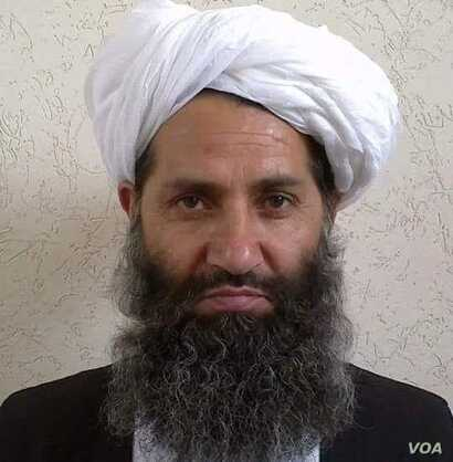 A photo circulated by the Taliban of new leader Mawlawi Haibatullah Akhundzada.