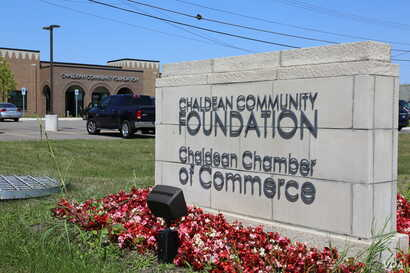 """The Chaldean Community Foundation serves Chaldean-Americans, but advocates say """"everyone is welcome"""" in the center, in Sterling Heights, Michigan, July 31, 2017. Chaldeans in Sterling Heights represents the largest concentration of the religious ..."""