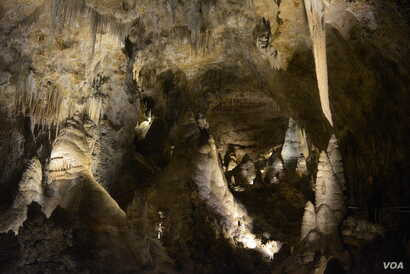 """""""Magical"""" is how national parks traveler Mikah Meyer described the caves of Carlsbad Caverns National Park, beneath New Mexico's Chihuahuan Desert."""