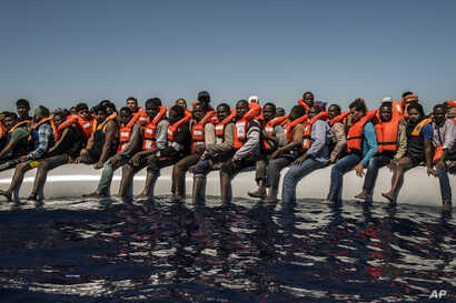 APTOPIX Libya Migrants
