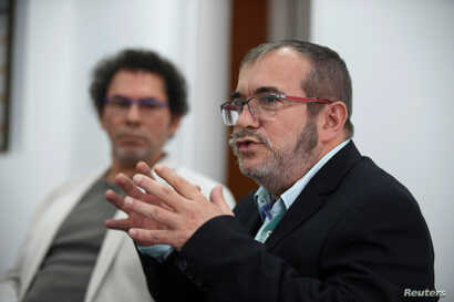 Before the Nobel Peace Prize was announced many people thought it might be shared with FARC leader Rodrigo Londono.