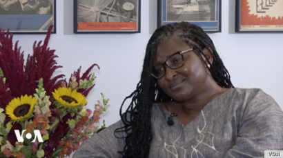Monica Geingos talks with VOA about her work as Namibia's first lady