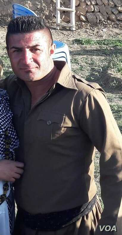 Iranian Kurdish porter Ghalib Kuik appears in this undated photo sent to VOA Persian by a family member. She said Iranian security forces shot and killed Kuik near Marivan, Iran on November 11, 2018.